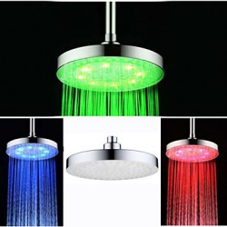 8 Inch Chrome Colorful LED...