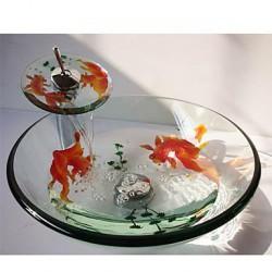 Goldfish Round Tempered...