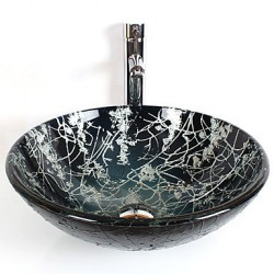 Round Contemporary Bathroom...