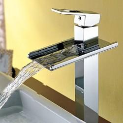 Waterfall Bathroom Sink Tap...