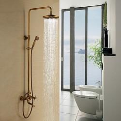 Antique Brass Tub Shower...