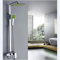 Green Shower Tap...