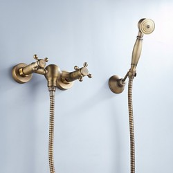 Tub Tap Antique Brass...