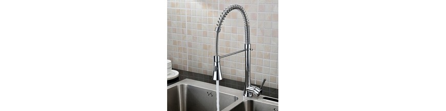 Pull out Spray Kitchen Taps