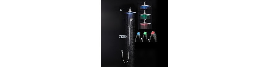 LED Shower Taps